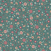 Pattern of the small flower,