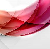 Wave color transparent background design
