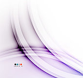 Flowing color wave pattern background