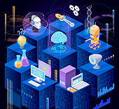 Artificial intelligence system, digital technologies of future, robotic technology.