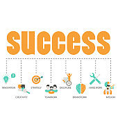 Business and success concept