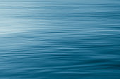 Blue water surface background.