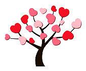 Tree and heart illustration