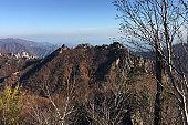 Autumn Gongnyong Ridge in Seoraksan Mountain