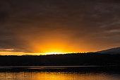 Sunrise over Lake Sammamish