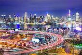 New York, New York, USA Cityscape