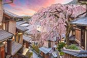 Kyoto, Japan in the Higashiyama