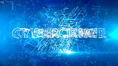 Digital technology abstract background