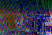abstract digital design backdrop with tv glitch error
