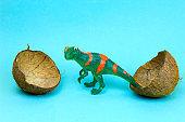 dinosaur egg, creative art