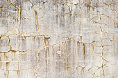 grunge wall with cracks and stains texture close up