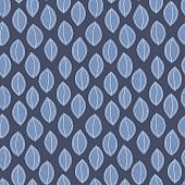 Blue color seamless pattern