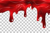 blood liquid ketchup Seamless vector