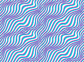 Lined seamless minimalistic pattern with optical illusion, op art vector minimal lines background, stripy tile minimal wallpaper or website background.