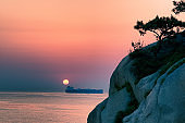 Sunrise at Daewangam Park, Ulsan VD702