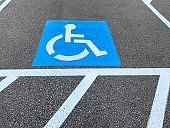Wheelchair Accessible Parking Area