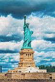 Statue of Liberty (Liberty Enlightening the world) near New York.