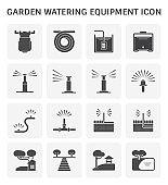 garden watering icon
