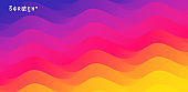 Abstract background with dynamic effect. Modern pattern. Vector illustration for design.