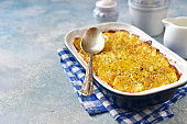 Potato celery gratin with cheese