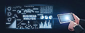 Business analysis concept. Trade, Investment, Business, Success