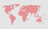 World map vector template, worldwide info graphic