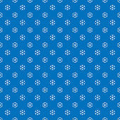 Seamless Winter Snowy Background filed with snowflakes