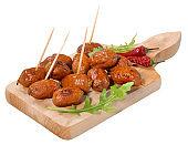 Chorizo sausages