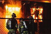 Firefighters on Scene