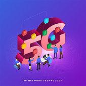 Concept 5G network technology
