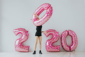 2020 New year preparing party concept