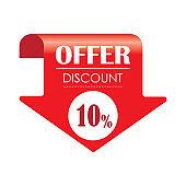 Special offer you save 10% - VECTOR - Illustration