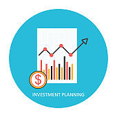 Investment, savings future planing concept