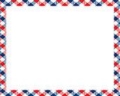 Rectangle borders and Frames vector. Border pattern geometric vintage frame design.