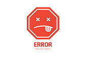 404 label error page not found design template for website