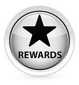 Rewards (star icon) crystal white round button