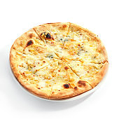 Four cheese pizza