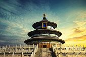 Temple of Heaven landmark of Beijing city, China. - Image