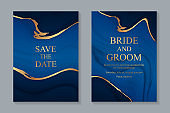 Wedding invitation design or greeting card templates.