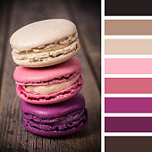 Macaroon stack palette