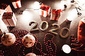 new year's eve 2020 composition