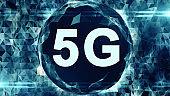 5G network wireless high speed cellular mobile internet communications render