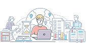 온라인 학교생활