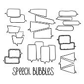 Hand-drawn Speech Bubbles-02