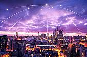 Shanghai skyline network technology