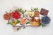 Health anti aging food.
