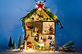 Christmas Fabulous wooden House
