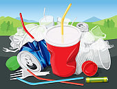 Environment Pollution Illustration