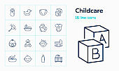 Childcare icons