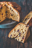 Panettone: cross section
